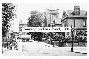 Dennington Park Road 1904
