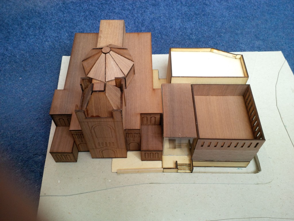Model of HS community centre May 2015 2